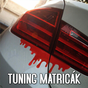 Tuning matricák - Matrica Shop