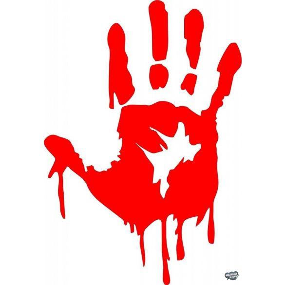 Horror véres kéznyom tuning matrica