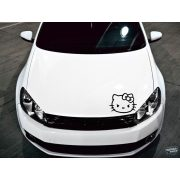 Ideges Hello Kitty tuning matrica (30x40 cm)