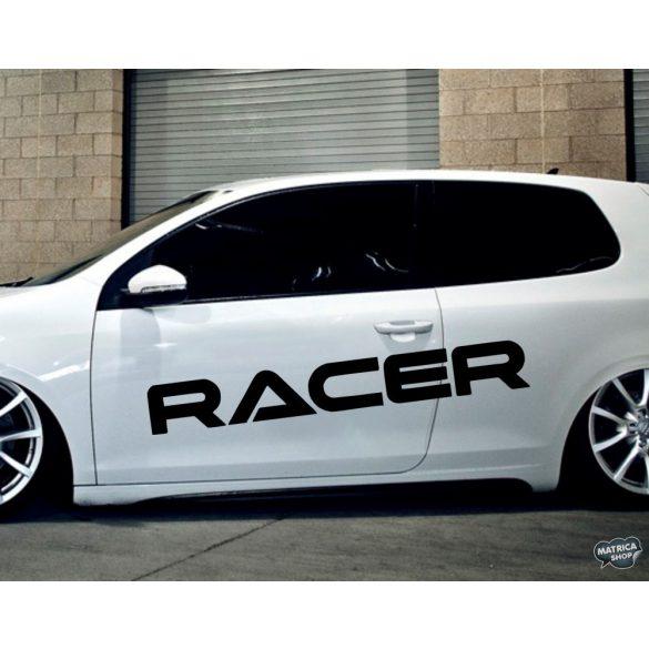 RACER felirat tuning matrica (30x122 cm)