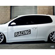 RACING felirat tuning matrica (30x64 cm)