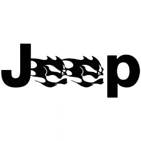 Jeep matrica