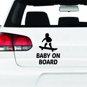 Baby on board matrica