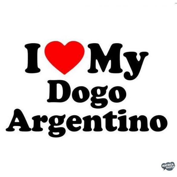 Argentin dog matrica 6