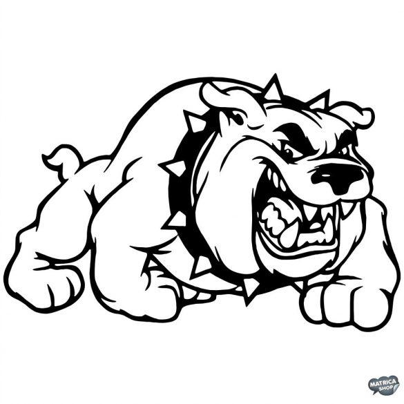Bulldog matrica 0