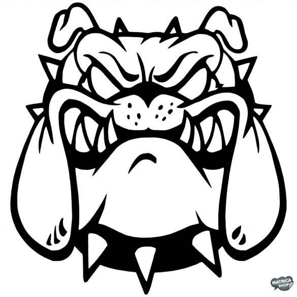 Bulldog matrica 1