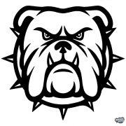 Bulldog matrica 2