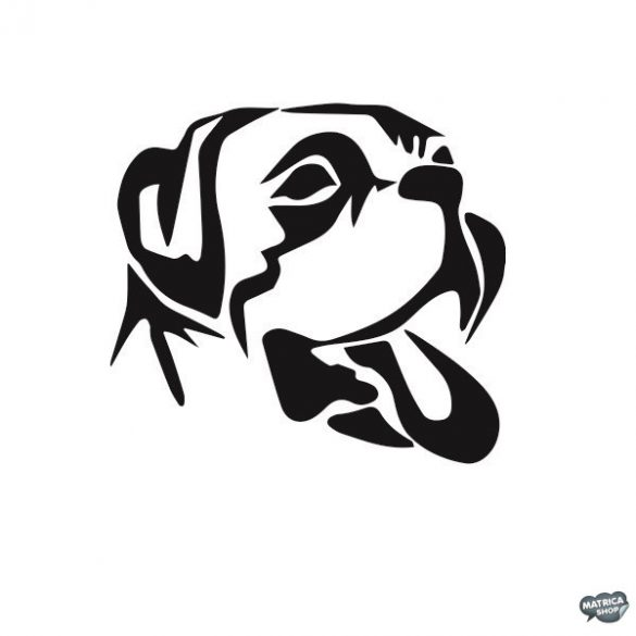 Bulldog matrica 8