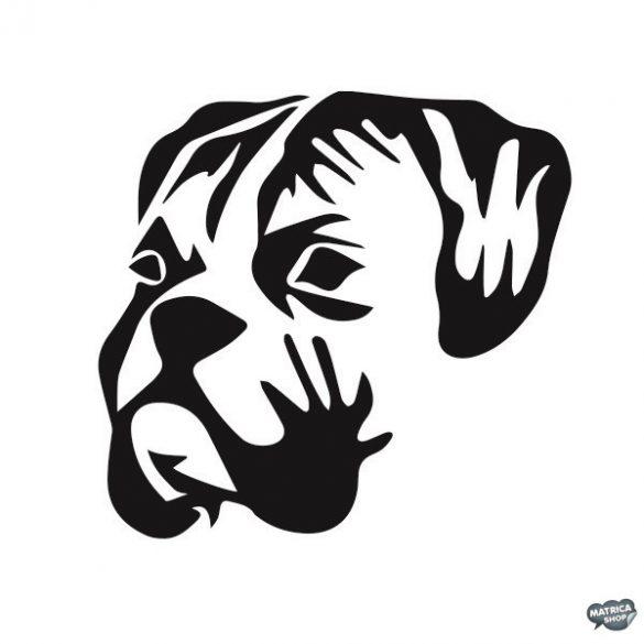 Bulldog matrica 9