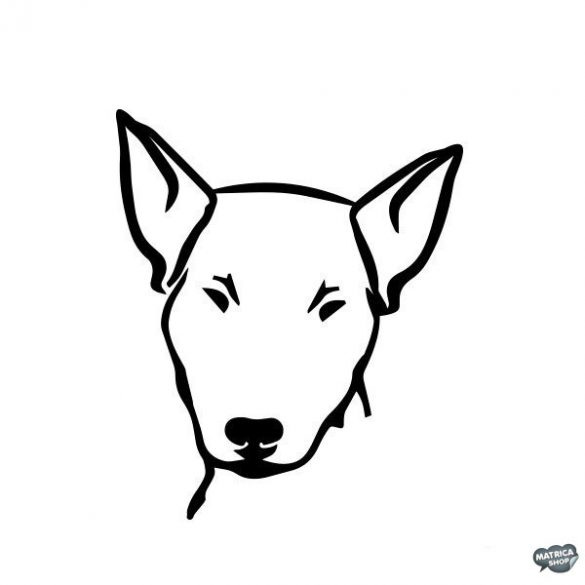 Bullterrier matrica 3