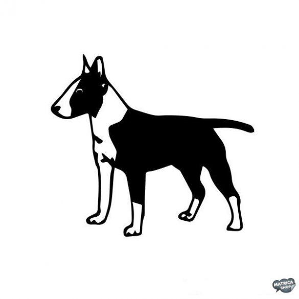 Bullterrier matrica 9