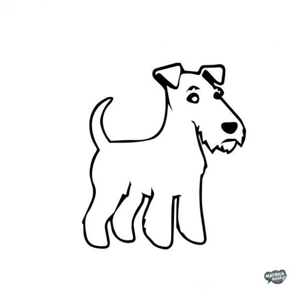 Foxterrier matrica 5