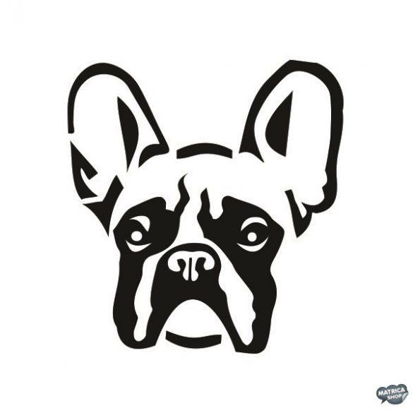 Francia bulldog matrica 15