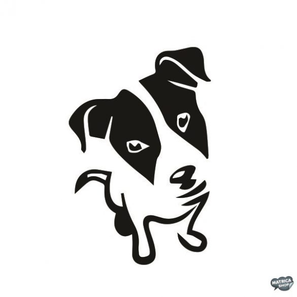 Jack russel terrier matrica 2