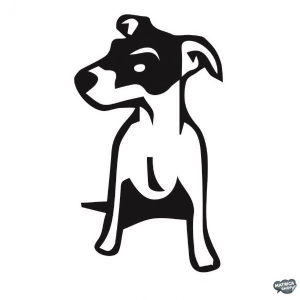 Jack russel terrier matrica 3