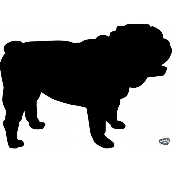 Angol bulldog matrica 3