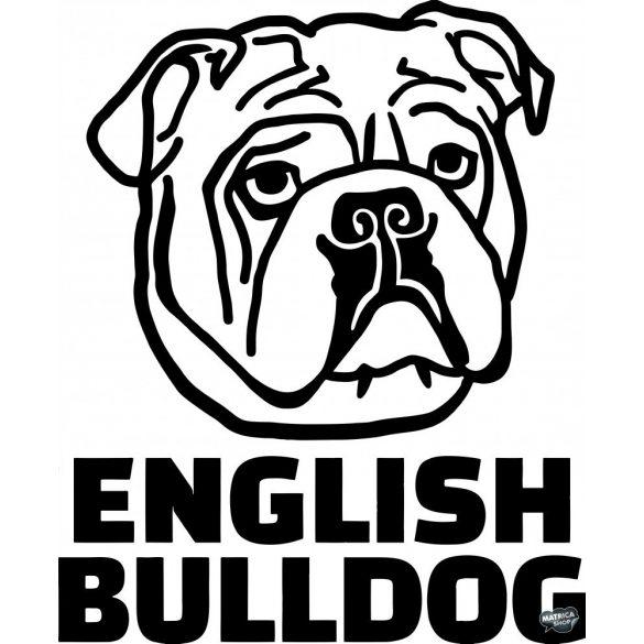 Angol bulldog matrica 4