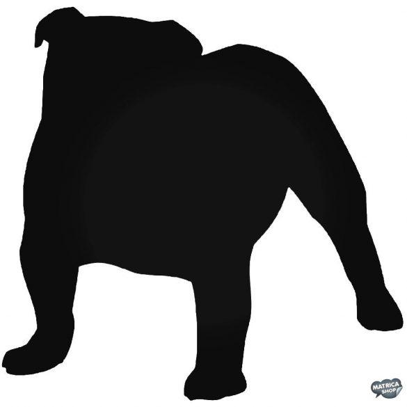 Angol bulldog matrica 19