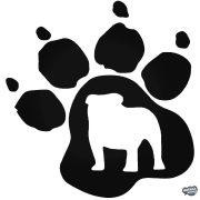 Angol bulldog matrica 20