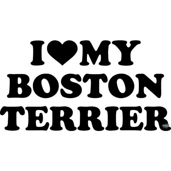 Boston terrier matrica 15