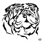Bulldog matrica 19