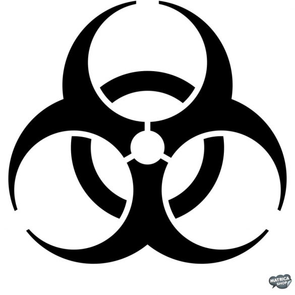 Biohazard matrica