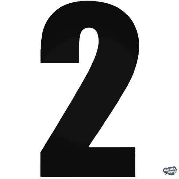 2 - Szélvédő matrica