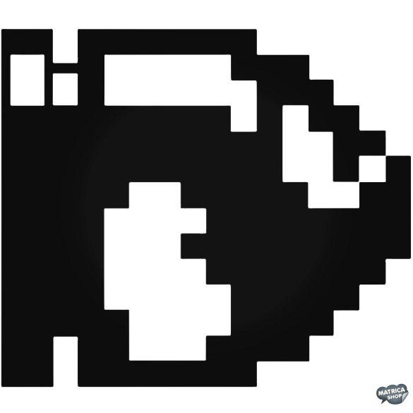 Bullet Bill 8-bit Super Mario matrica