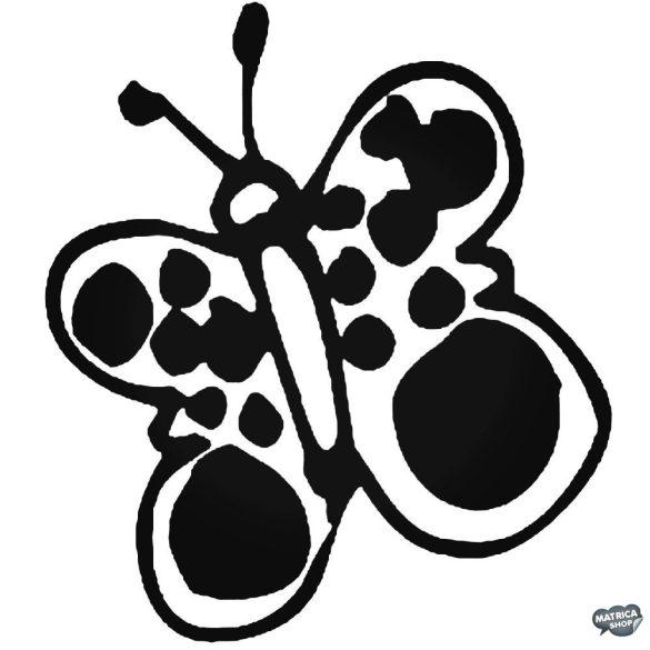 Pillangó matrica 5
