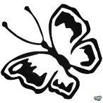 Pillangó matrica 7