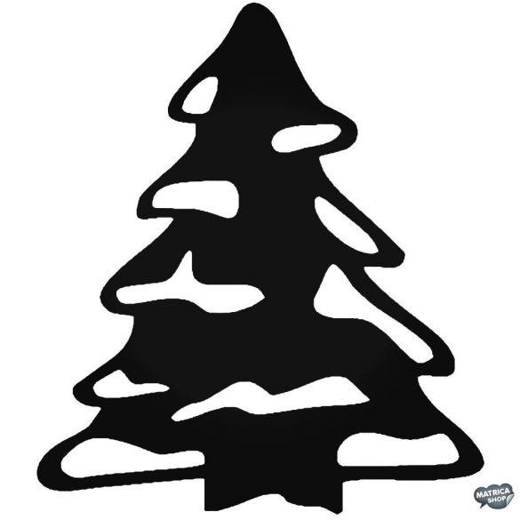Havas fenyőfa matrica