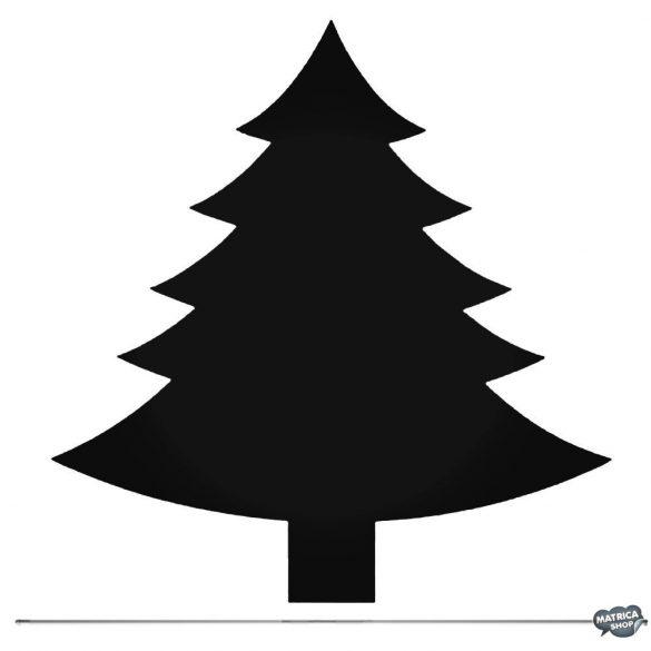 Fenyőfa matrica