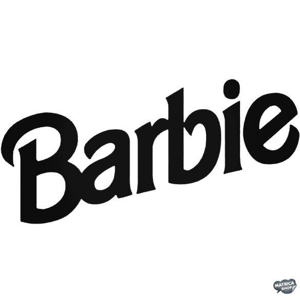 Barbie Felirat - Szélvédő matrica