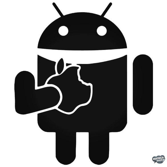 Android Applet eszik - Szélvédő matrica