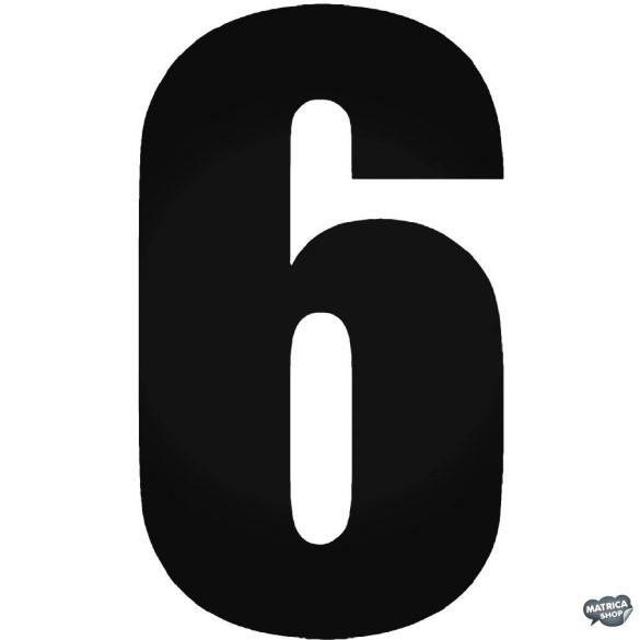 6 - Szélvédő matrica