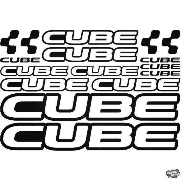 CUBE bicikli matrica szett