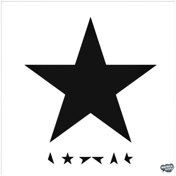 David Bowie fekete csillag Autómatrica