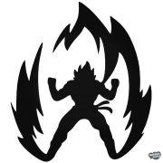 Dragon Ball Super Saiyan Goku Autómatrica