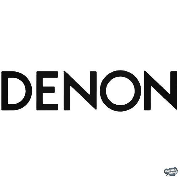 Denon felirat - Szélvédő matrica