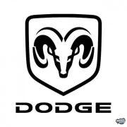 Dodge embléma matrica