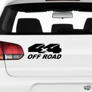4x4 Off Road - Szélvédő matrica