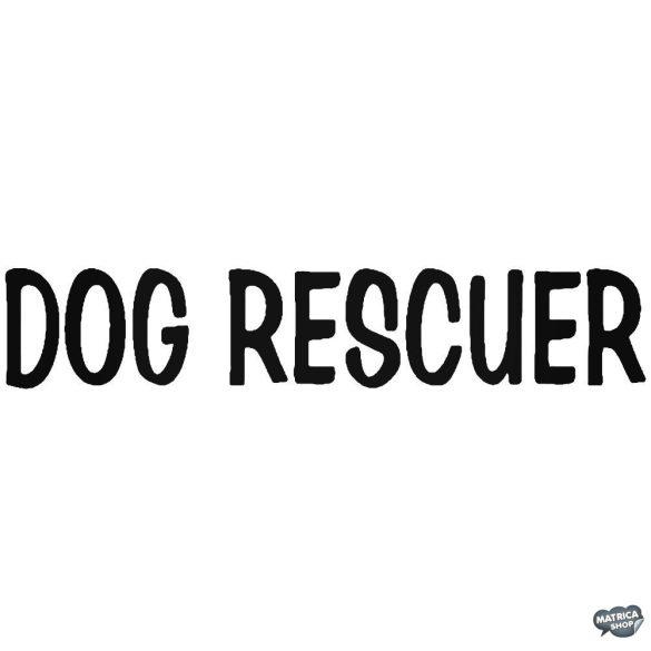 DOG RESCUER matrica