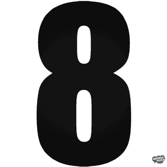 8 - Szélvédő matrica