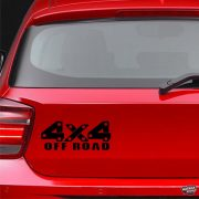 4x4 Off Road TITAN - Szélvédő matrica