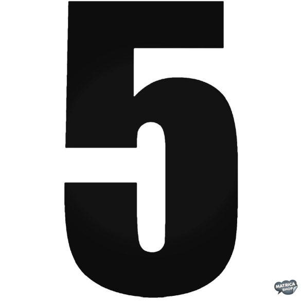 5 - Szélvédő matrica