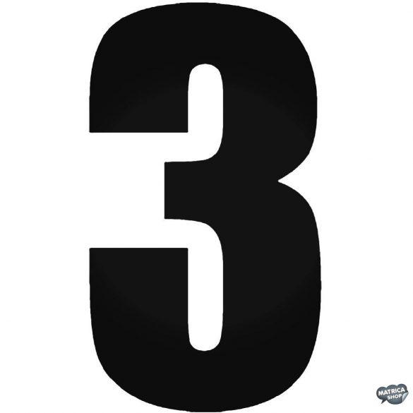 3 - Szélvédő matrica