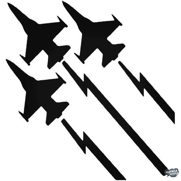 Repülő vadászgépek Autómatrica