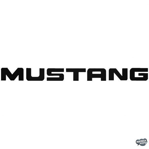 Ford Mustang matrica felirat