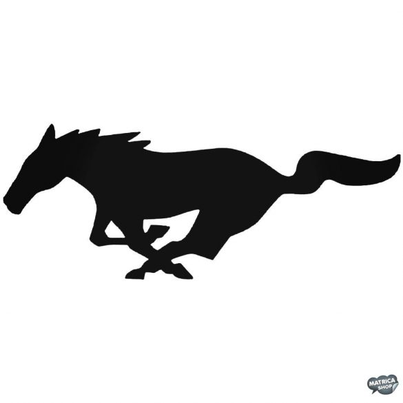 Ford Mustang embléma matrica
