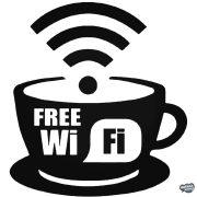 Kávé Free Wifi Autómatrica